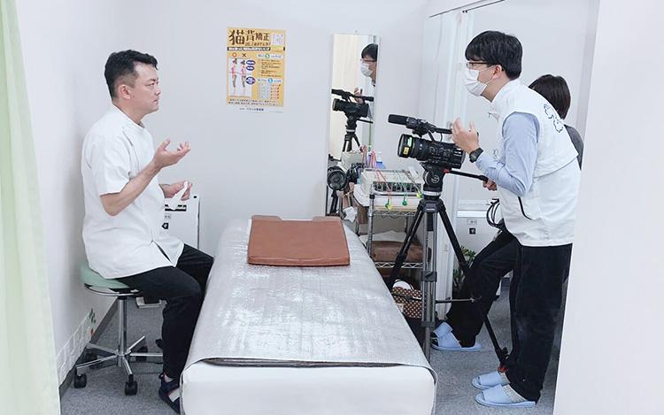 日本テレビ「ZIP」取材